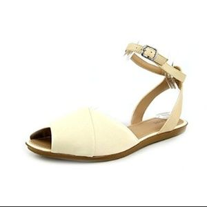 ALFANI MALOREE SLINGBACK SANDALS 7.5 BUTTERMILK